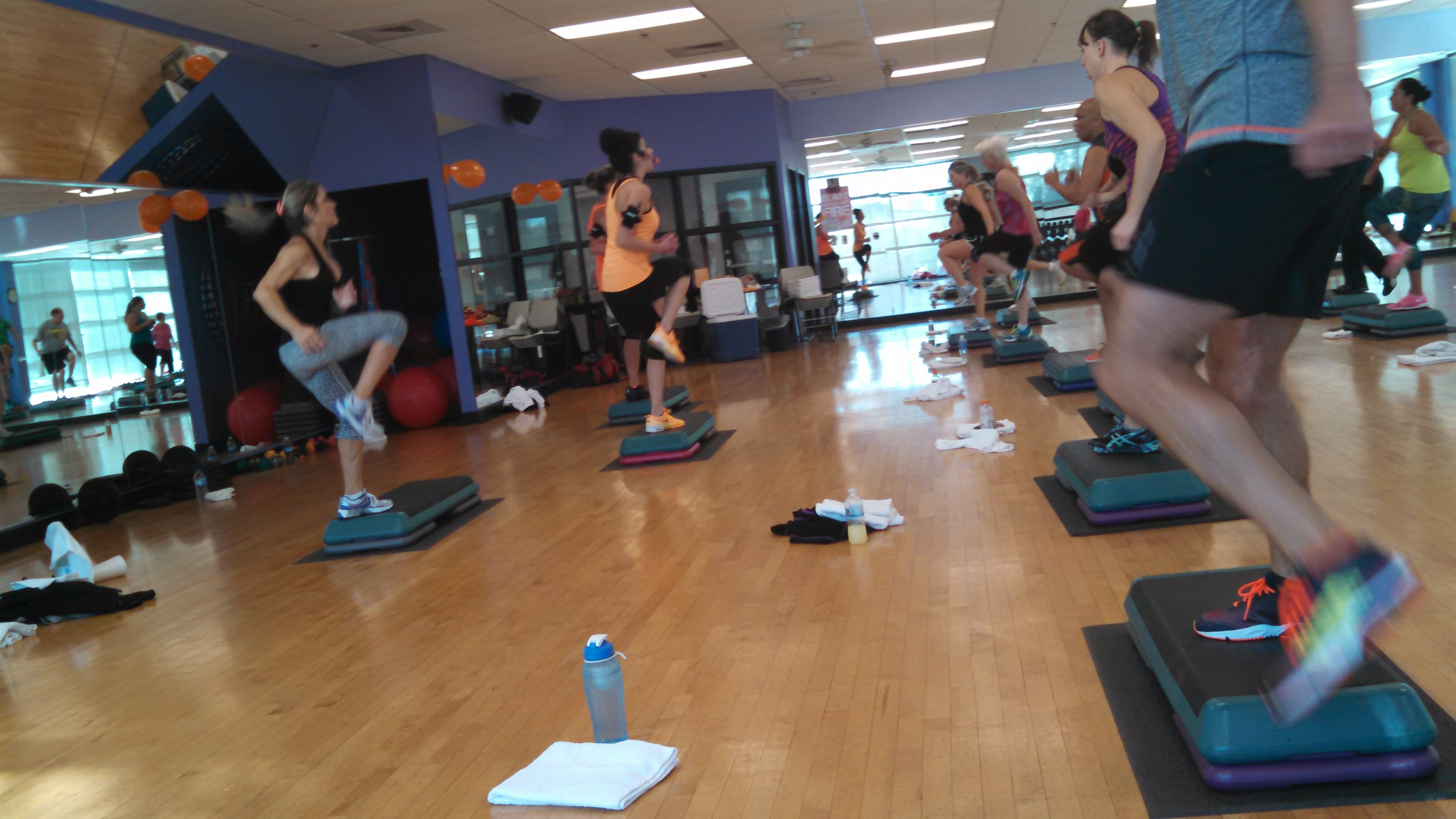 West Central Group Fitness Monthly Blog - April 2015