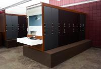 East Olathe Gym Locker Room