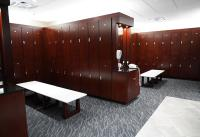McPherson Gym Locker Room