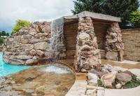 Ridgeview Pool Waterfall