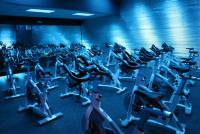 Gym Group Cycle Class