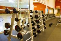 Genesis Gym Free Weights Room