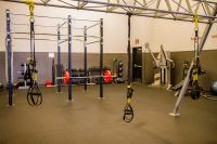 Genesis Gym Warm Up Area