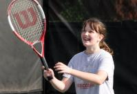 Girl Playing Tennis Genesis