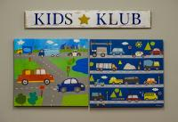 Merle Hay Kids Club Sign
