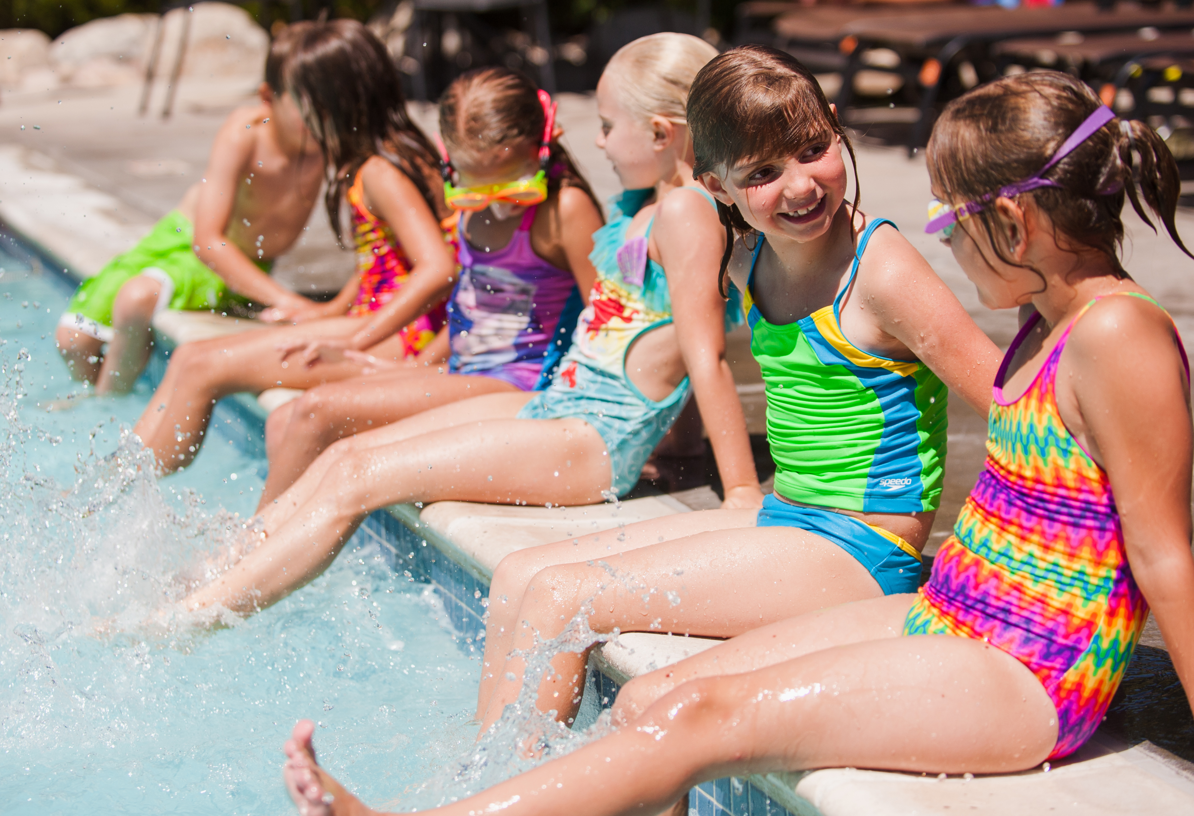 Pool birthday parties at Genesis Fort Collins Club | Fort Collins, CO