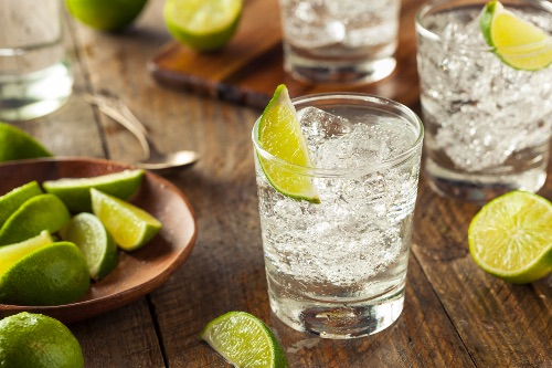 Gin and Tonic Drink