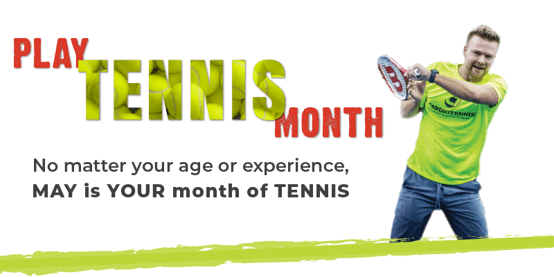 May is Play Tennis Month at Genesis