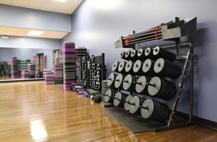 Shadow Lake Group Fitness Room