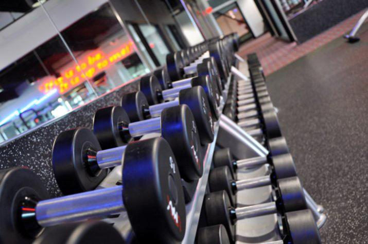 Westroads Gym Weights
