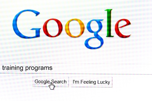 Google search training programs