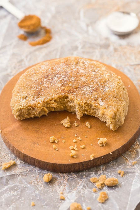 Cinnamon Bun Protein Cookies