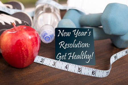 Get Healthy in 2018 For New Year's Resolution
