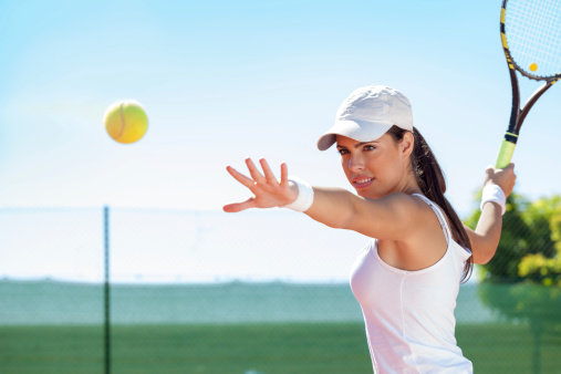 tennis provides a great workout